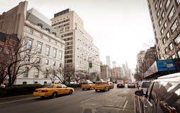 avenystadsmadison ny streetlife york Royaltyfri Foto