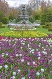 Avenyträdgårdar på Regent's Park i London Royaltyfri Foto