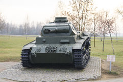 The average German tank of the Second World War. T3 Royalty Free Stock Image