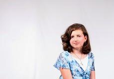 Average Girl Royalty Free Stock Images