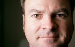 Average Guy Closeup stock image