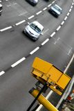 Average speed camera Royalty Free Stock Image
