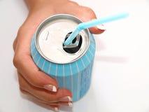 Avere una bevanda Fotografia Stock Libera da Diritti