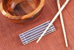 Avere una cucina asiatica Fotografie Stock