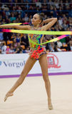 A. Averina, Russia. Clubs Royalty Free Stock Photo
