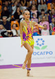 A. Averina, Russia. Clubs Royalty Free Stock Image
