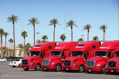Averitt Express trucks Royalty Free Stock Image