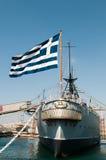 Averof warship, Athens Greece Royalty Free Stock Image