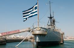 Averof warship, Athens Greece Stock Photos