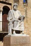 Averroes, arab philosopher of Cordoba, Spain Stock Images
