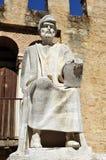 Averroes, Arabische filosoof van Cordoba, Spanje Stock Foto