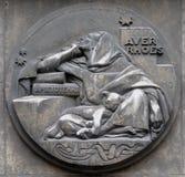 Averroes var en medeltida Andalusian polymath fotografering för bildbyråer