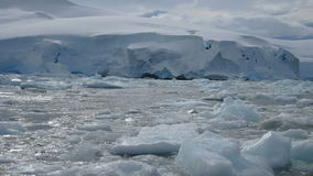 Avers Island ice field, Antarctica stock video