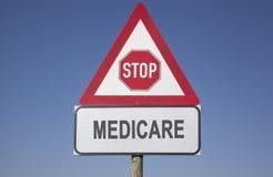 Avertissement d'Assurance-maladie image libre de droits