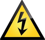 avertissement nucléaire Photo stock