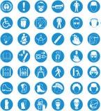 avertissements et tables de sécurité Image libre de droits