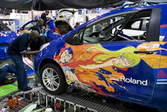 Avery Graphics - Roland Wrap off - Contest Stock Images