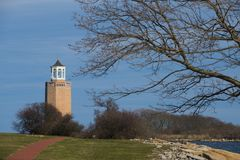 Avery Point Lighthouse Stockfoto
