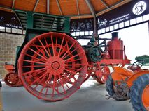 Avery vintage tractor royalty free stock image