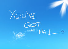 Avete la posta Fotografia Stock