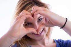 Avete mio cuore Fotografia Stock