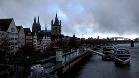 Avez-vous jamais été à Cologne ? Photo libre de droits