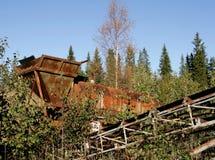 Avfall i naturen Royaltyfria Bilder