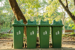 Avfallfack Arkivbild