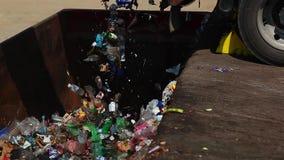 avfalls stock video