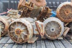 Avfalls för elektriska motorer Fotografering för Bildbyråer
