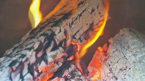 Avfyra bränningen i spisultrarapiden inget gradera för färg stock video