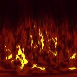 avfyra flammar arkivfoto