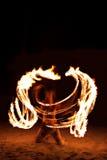 Avfyra showen Fotografering för Bildbyråer