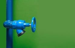 Avfyra ventilen, installation av systemet för brandsäkerhet, säkerhetsbrandi bransch eller processen arkivbild