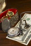 Avgång och finansiell planläggning Arkivfoton