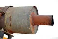 avgasrör arkivbild