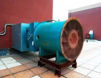 avgasrörventilatorsystem Fotografering för Bildbyråer