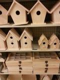 Aviários de madeira Fotos de Stock