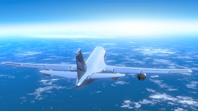 Avião ilustração royalty free