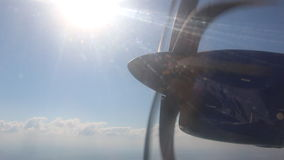 Avião video estoque