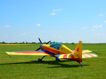 Avião Aerobatic da equipe Fotografia de Stock
