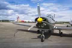 Avião aerobatic dos insetos da equipe P3 de Pilatus Warbird do suíço Imagem de Stock Royalty Free