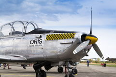 Avião aerobatic dos insetos da equipe P3 de Pilatus Warbird do suíço Imagens de Stock Royalty Free