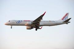 Avião, Air Europa em Barcelona Imagens de Stock