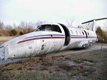 Avião aposentado velho Fotografia de Stock Royalty Free