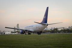 Avião BOEING 737 Imagens de Stock