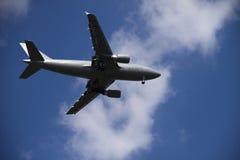 Avião cinzento Imagem de Stock Royalty Free