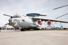 Avião civil branco da carga Imagem de Stock