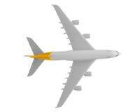 Avião com cor amarela Foto de Stock