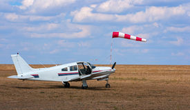 Avião comercial Fotografia de Stock